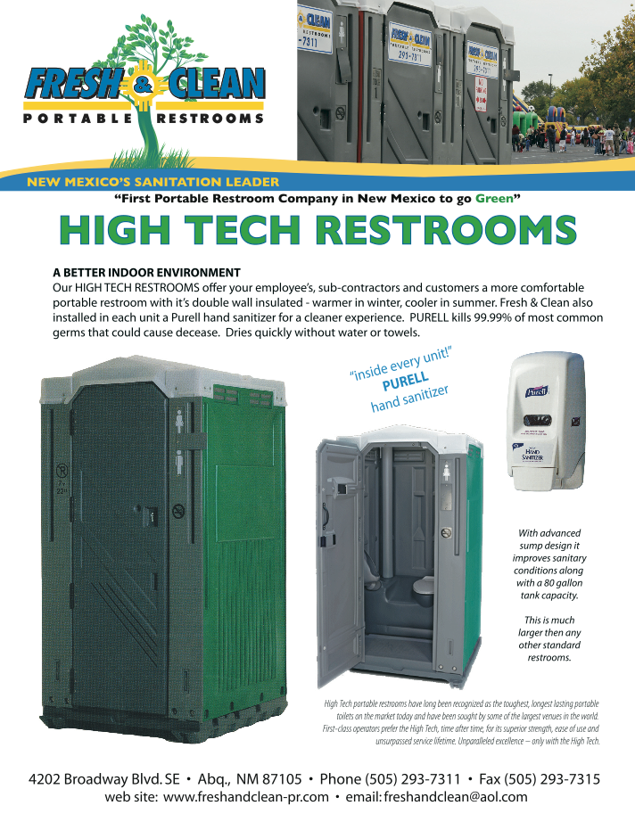 Shower Trailers Fresh Amp Clean Portable Restrooms